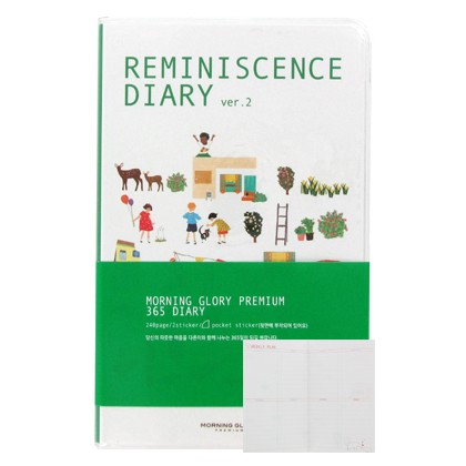 Reminiscence Diary - White Background