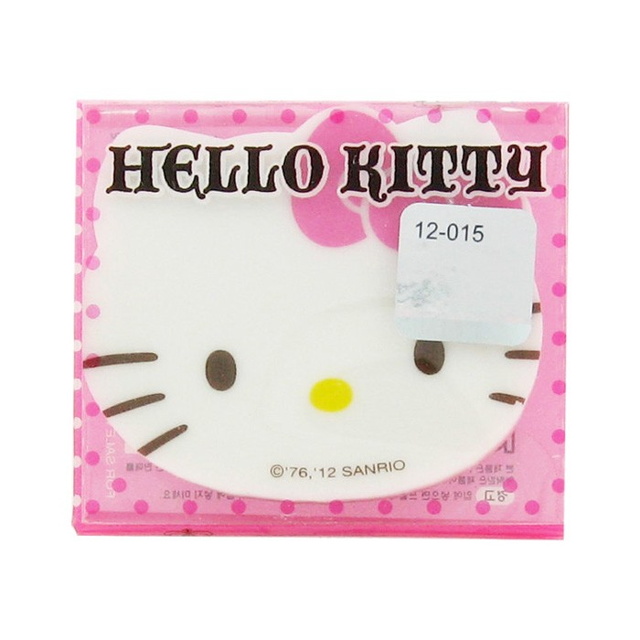 Hello Kitty Cute Face Eraser - Pink