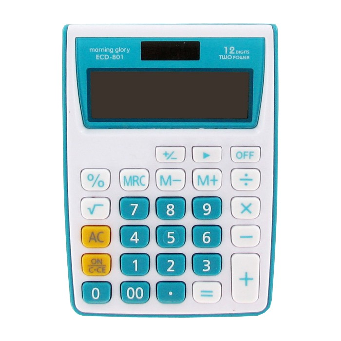 morning glory 12 Digits Two Power Calculator