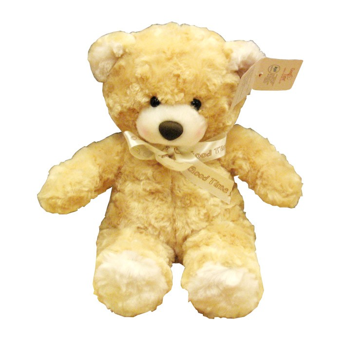 "Good Time Sweety Bear 15"" - Light Brown"