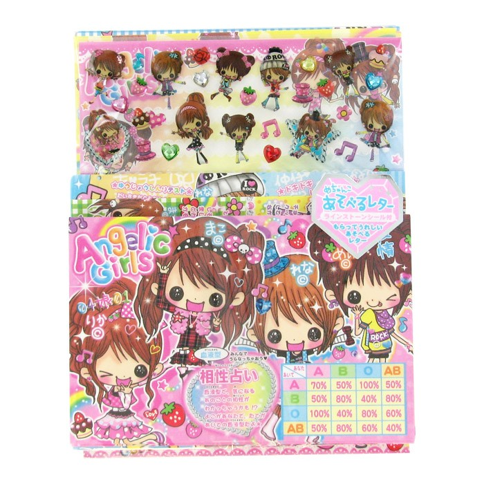 Angelic Girls Letter Set - Blood Types