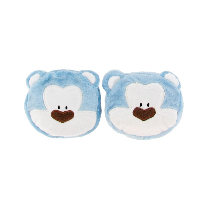 Blue Bear Face Wrist Support