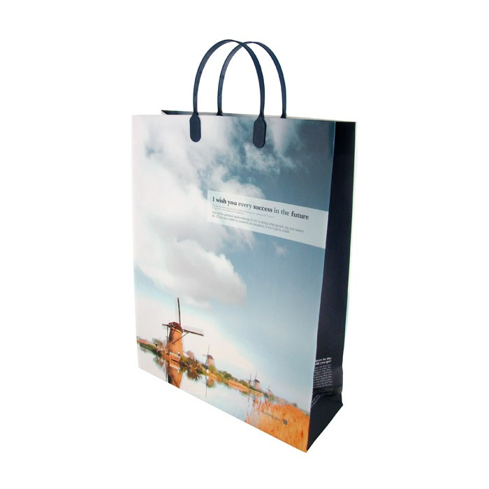 Fancy Soft Gifts Shopping Bag - Large - Windmill
