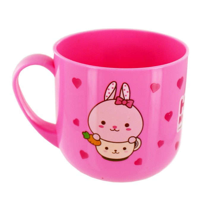 Hello Friend - Pink Rabbit Cup