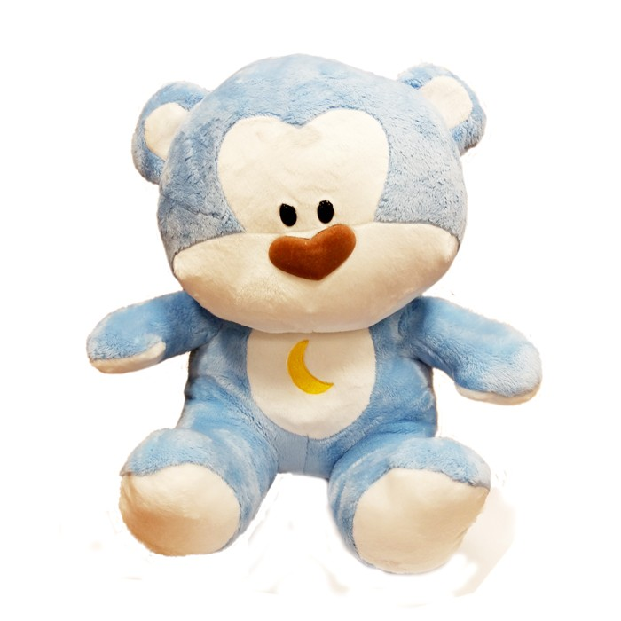 Blue Bear Plush Doll (2015/M) - 16""