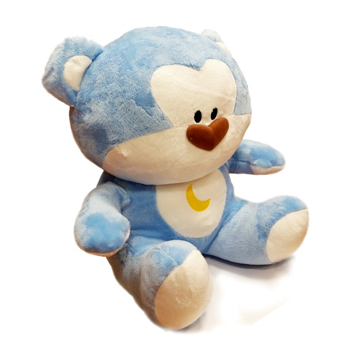 Blue Bear Plush Plain Doll (2015 / L) - 20""