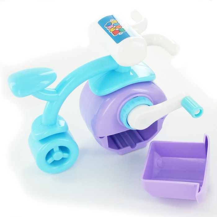 Disney - Tricycle Pencil Sharpener - Purple Wheel