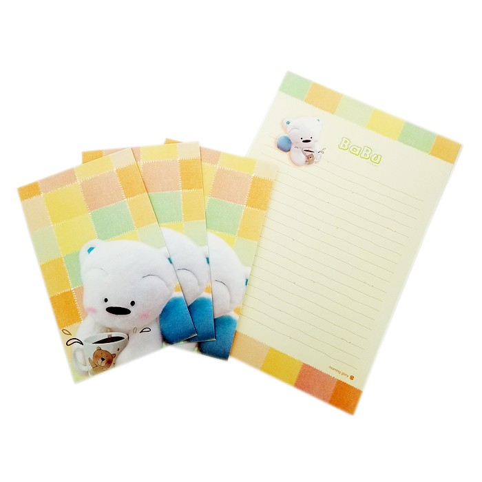 Babu Bear Letter Set
