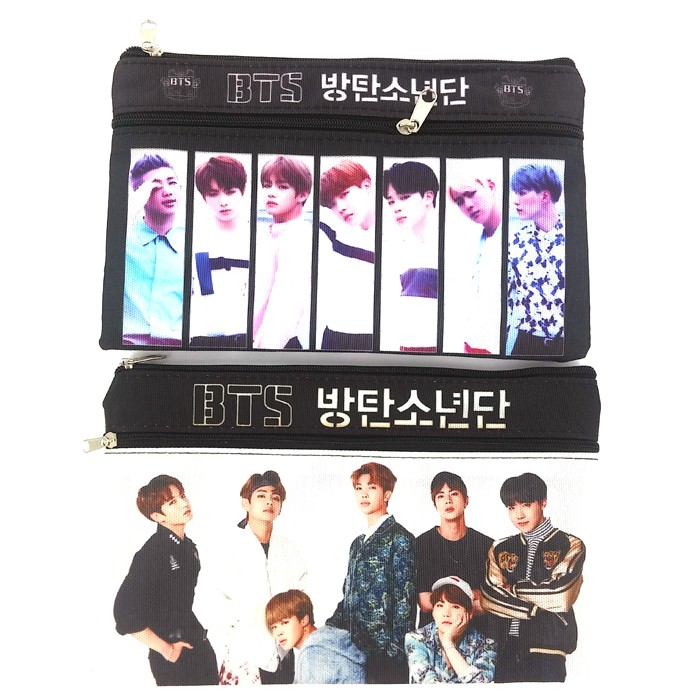 BTS Rectangular Pencil Case