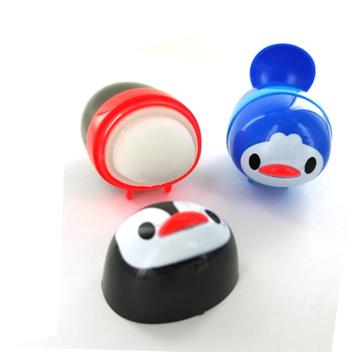 Penguin Pencil Sharpener and Eraser