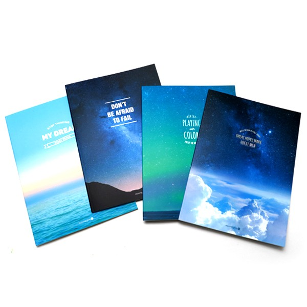 Eye Soft Sky Notebook