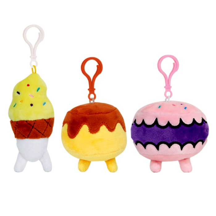 Dessert Friends Clip-on Plush