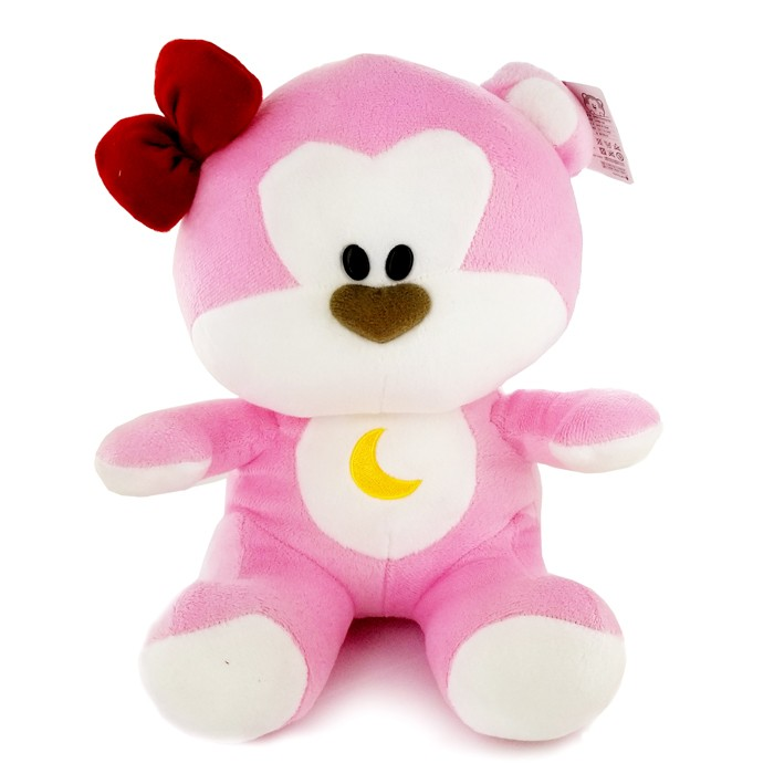 New Pink Bear Plush Doll 2018 (M) - 12""