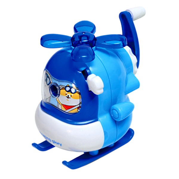Moongs Friends Helicopter Pencil Sharpener - Blue