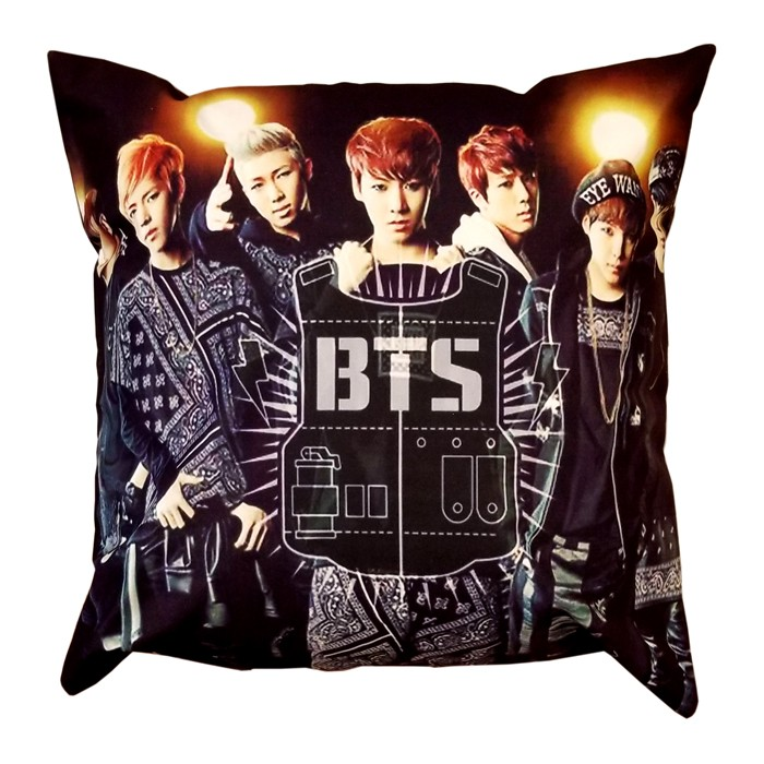 BTS Square Pillow - 4