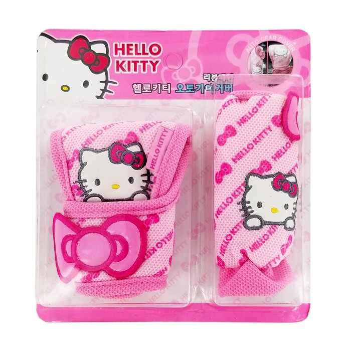 Hello Kitty Car Shifting Gear Covers
