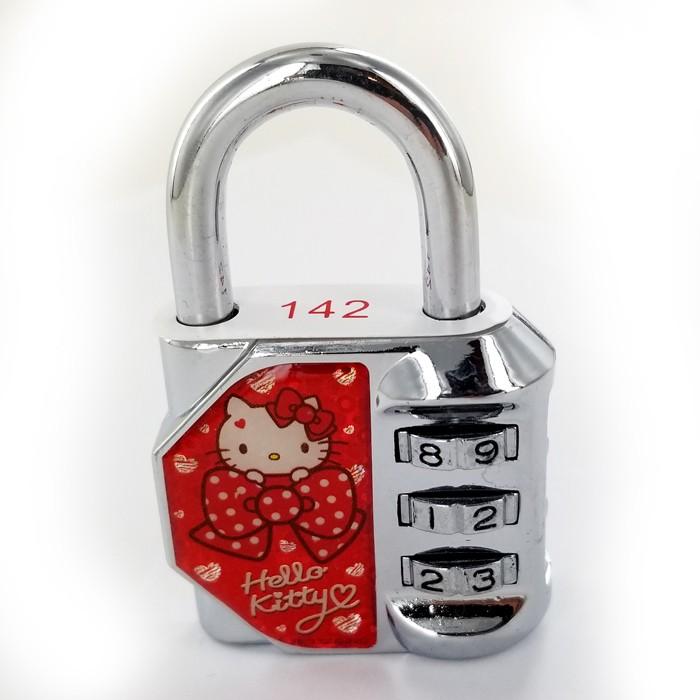Hello Kitty Pad Lock