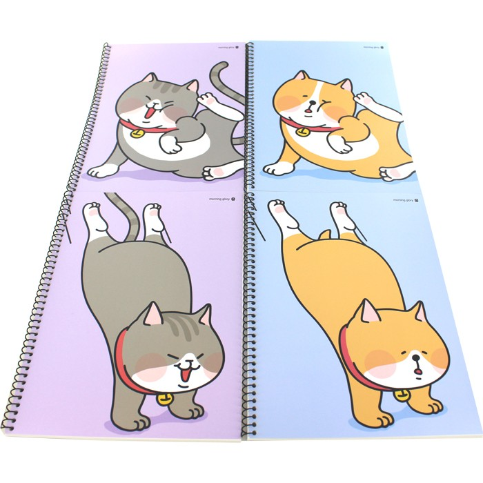 Dog and Cat Spiral Notebook