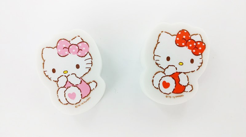 Hello Kitty Character Erasers