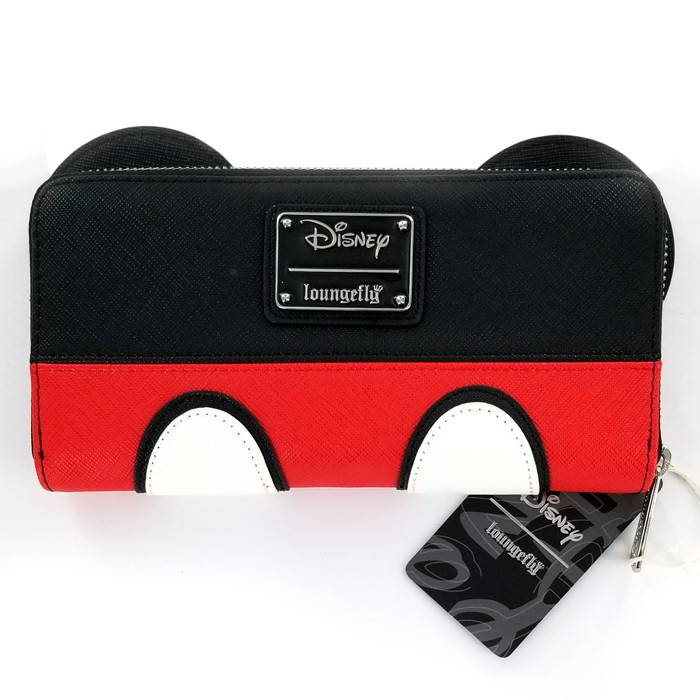 Disney Mickey Mouse Suit Zip Around Wallet