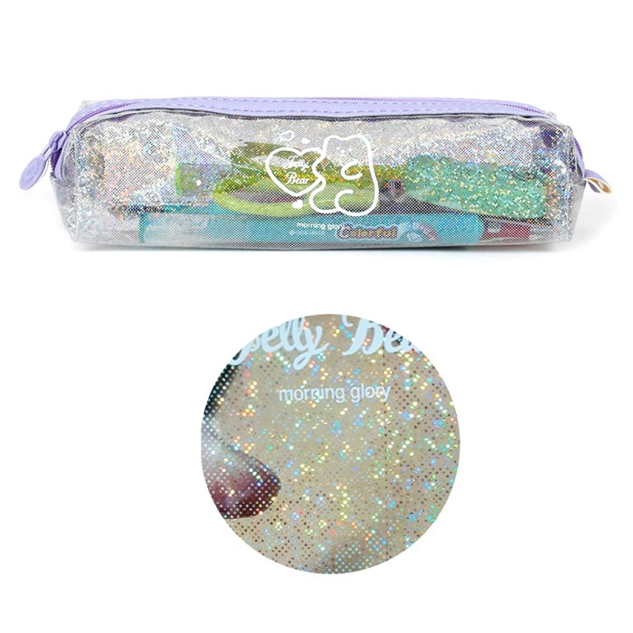Jelly Bear Tube Pencil Case