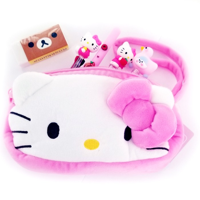 Hello Kitty Multipurpose Face Pouch - Pink