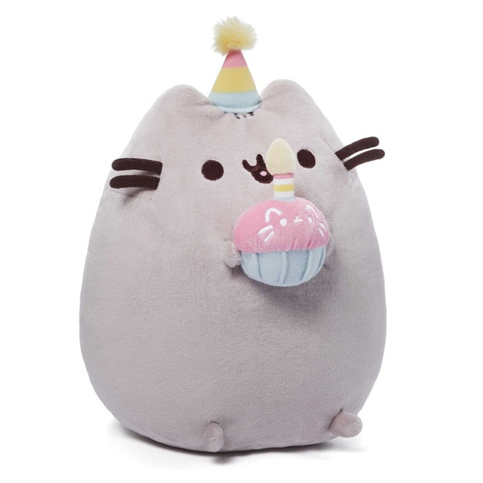 Pusheen Cat Medium Plush - Cupcake 10""