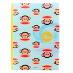 Paul Frank Double Pocket File Folder - Blue