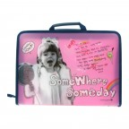 Handy Zipper File Case-Little Girl
