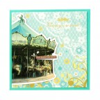 Love Greeting Card - Carrousel