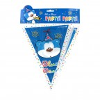 Blue Bear Party Banner