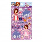 Sofia the FIrst Coordinating Embossed Sticker