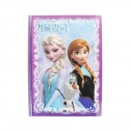 Frozen Stick Holding PP File Folder - Purple