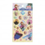 Frozen Glittering Sticker - Bright Yellow