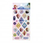 Frozen Glittering Sticker - Light Blue
