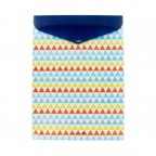 Morning Glory Design Envelope File- Colored Triangle