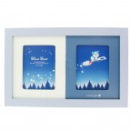 Blue Bear Double Photo Frame