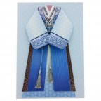 Traditional Korean Man Costume Card Set