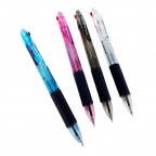 0.7mm 2 Colored Slip On Ball Pen