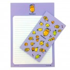 Morning Glory Fruit Letter Set - Purple Mango