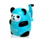 Moongs Hooded Pencil Sharpener - Mint Green Panda Bear