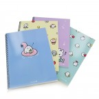 Moongs Friends Spiral Notebook
