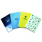 Exercise Blank Page Notebook