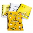 Gudetama Mini Index Notebook 5 Sections