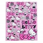 Hello Kitty Hard 3-Ring Binder - Pink