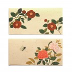 Flower Envelopes - Tan