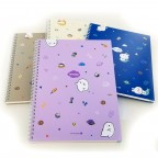 Moongs Friends Hardcover Ring Bound Notebook