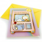 Moongs Friends 3D Greeting Cards - Congratulations (Crane Machine Prize)