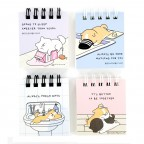 Mong Al Nong Al ( Sleepy ) Miniature Notepads