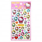 Hello Kitty Clear Candy Stickers - Pink